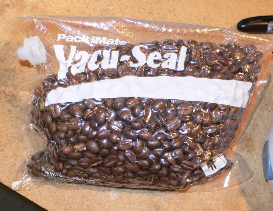 Vacuum Packing Coffee